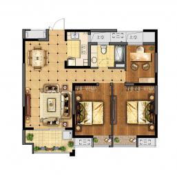 高层公寓-B户型