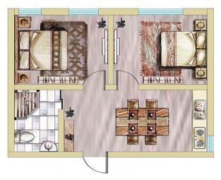 公寓2期A户型